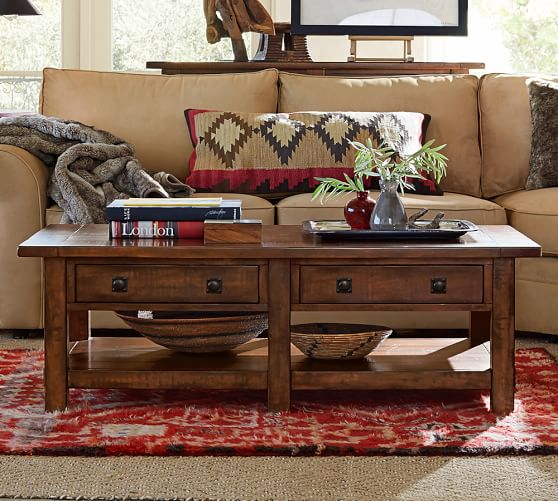 Pottery Barn Sale Save 20 Off On Coffee Tables Side Tables Media Consoles And More