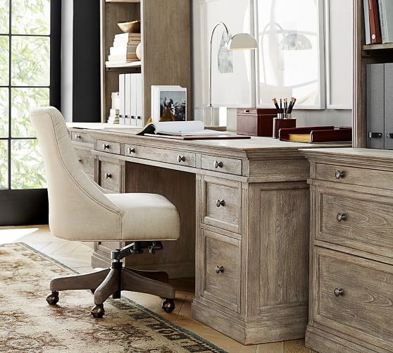 Pottery Barn Home Office Sale! Save 20% On Desks, Chairs, Lighting and More!