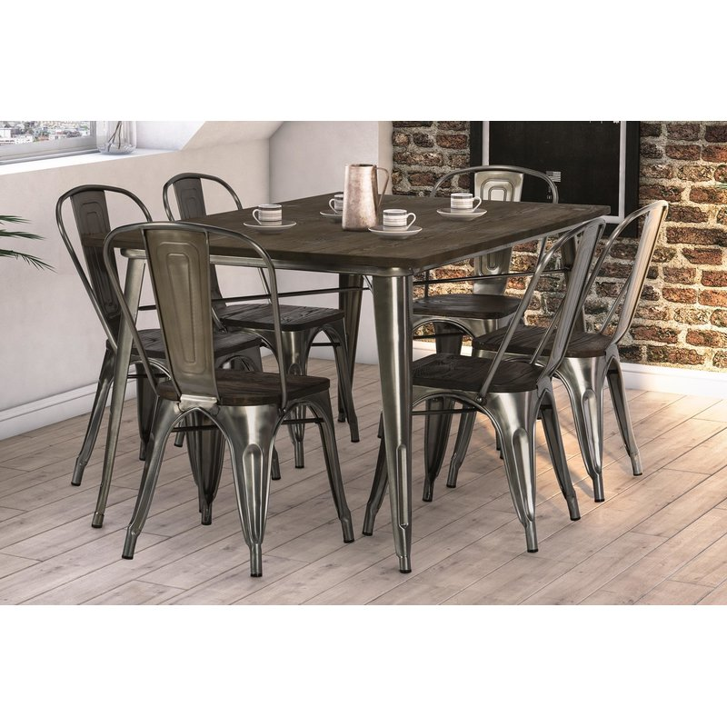 Trent Austin Design Fortuna 7 Piece Dining Set 2017 wayfair fall dining furniture sale