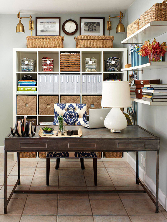 Create Your Dream Home Office During Pottery Barns Home Office Sale