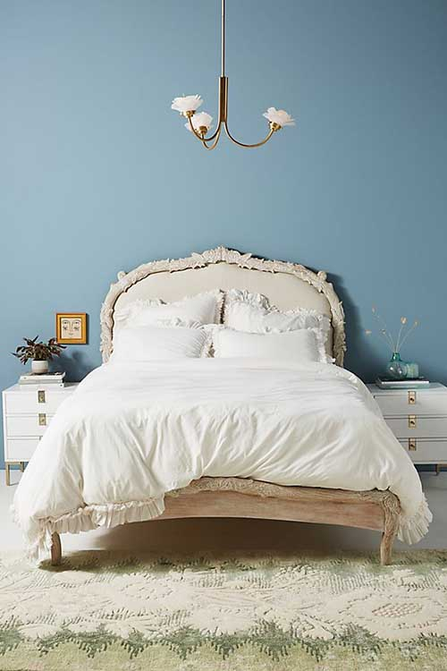 Washed Percale Adina Duvet Cover Off White anthropologie bedding sale