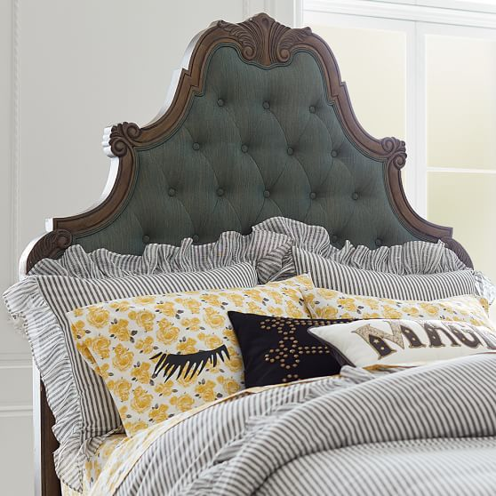The Emily & Meritt Parisian Headboard Denim PBteen buy more save more sale