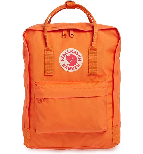FJÄLLRÄVEN Kånken Water Resistant Backpack designer backpacks back to school