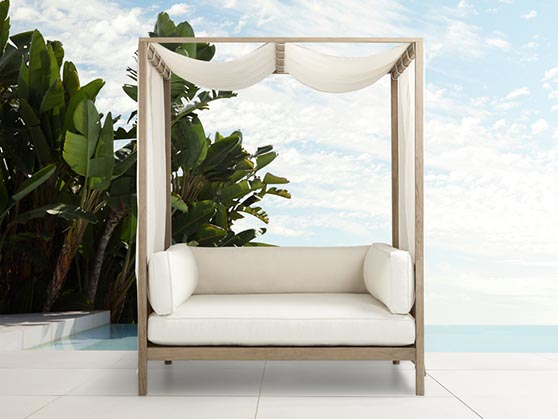 Arhaus hamptons outdoor daybeds