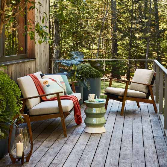 West Elm Catskill Outdoor Lounge Chair outdoor rope chairs